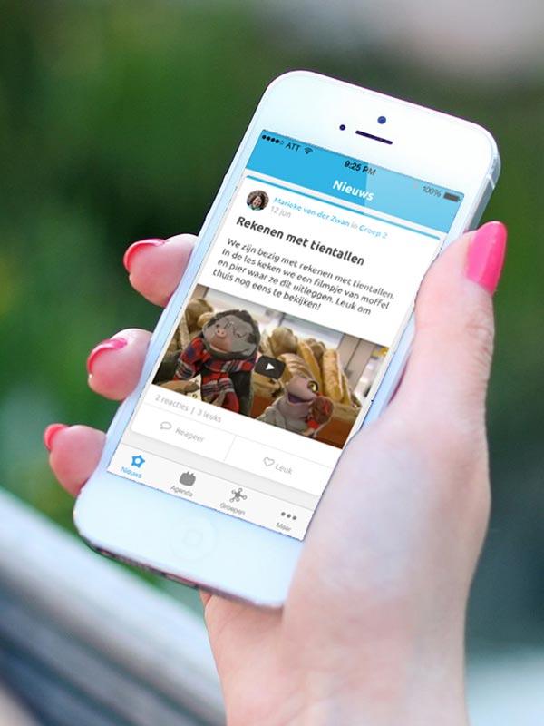 OBS De Octopus maakt gebruik van Social Schools voor communicatie met ouders